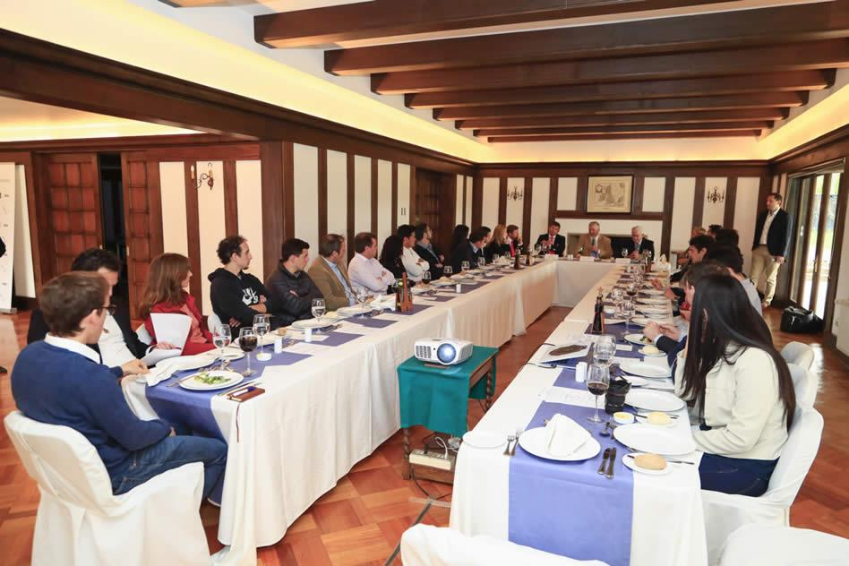 La presentación del Latin America Amateur Championship (LAAC) ante los medios de comunicación más importantes de Chile en las instalaciones del Prince of Wales Country Club (PWCC).