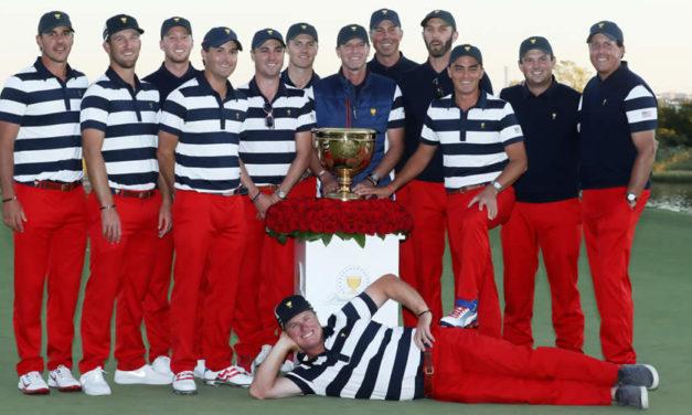Estados Unidos gana la Presidents Cup por séptima ocasión consecutiva