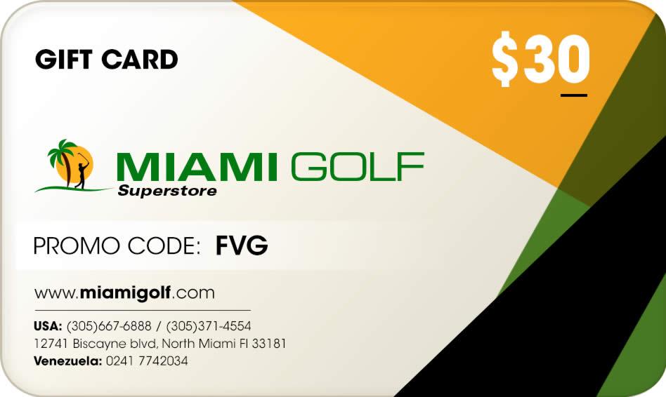 FVG hace alianza con la firma Miami Golf