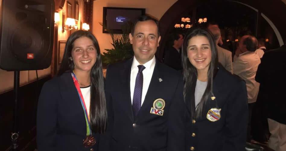 FVG reconoció medalla de Vanessa Gilly en Sudamericanos de la Juventud