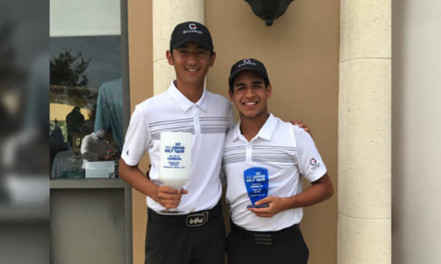 Gabriel Restrepo 2do en el IMG Junior Golf Tour