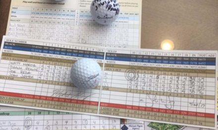 Increíble: Golfista emboca dos hoyos en uno en Par-4 y otro en un Par-3 en apenas una semana