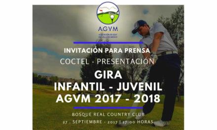Invitación: Inicio de la Gira Infantil – Juvenil AGVM 2017 – 2018