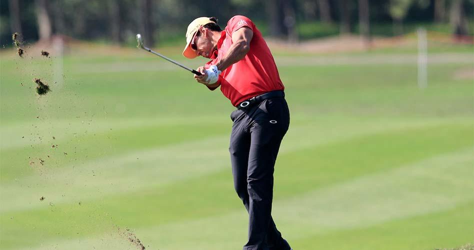 Rafa Cabrera Bello esta semana en el Sheshan International. © Golffile | Fran Caffrey