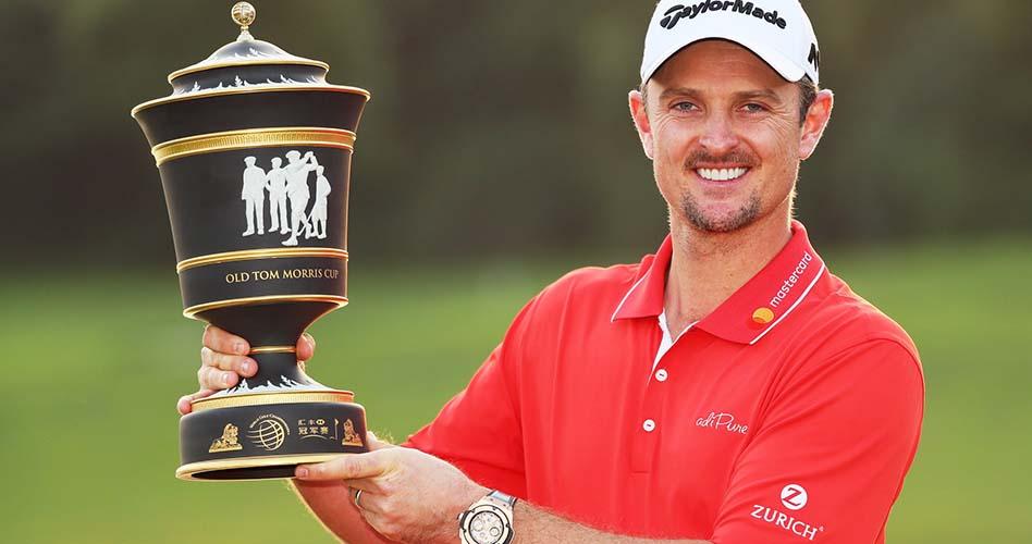 Justin Rose gana el primero de los cuatro World Golf Championships de la temporada PGA TOUR 2017-18