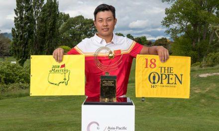 Lin Yuxin es el ganador del Asia-Pacific Amateur Championship 2017
