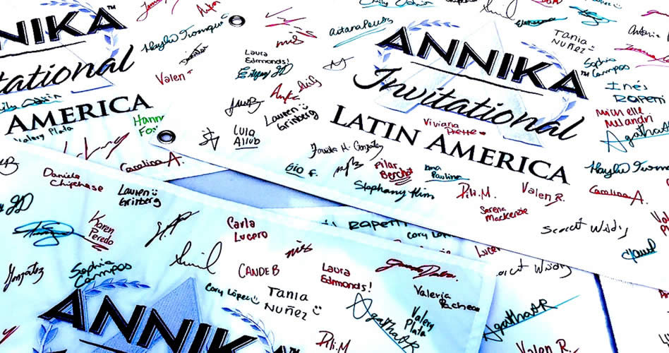 Los diez países sudamericanos, representados en el Annika Invitational esta semana en Argentina