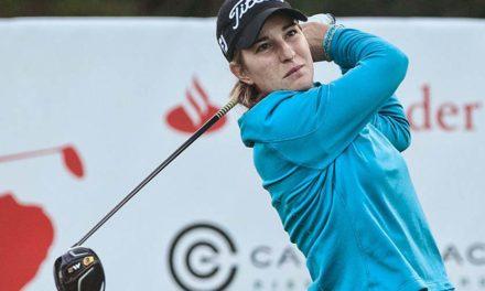 Luna Sobrón en el top ten de la prueba final del Santander Tour