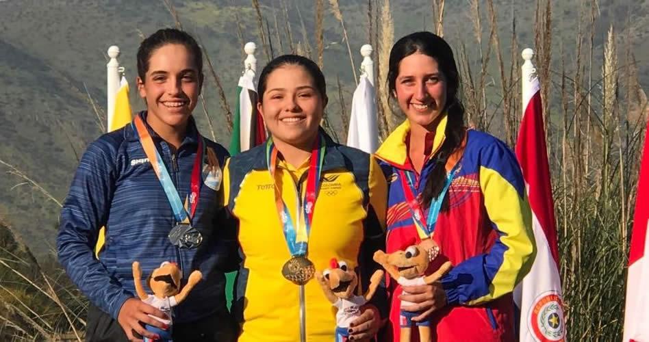 Medalla de Bronce para nuestra venezolana Vanessa Gilly