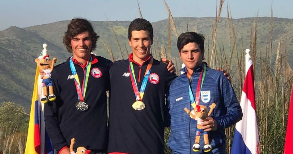 Martín Robert León Porte, Jan Bernhard Hellema Medina y Mateo Fernández de Oliveira