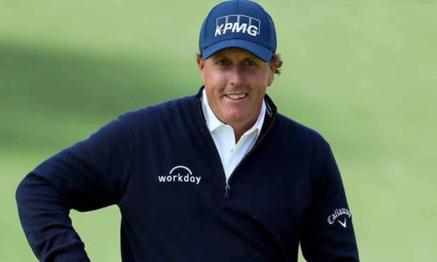 """Mickelson: """"Soy muy feliz por empezar mi vigésimo séptima temporada en el PGA"""""""
