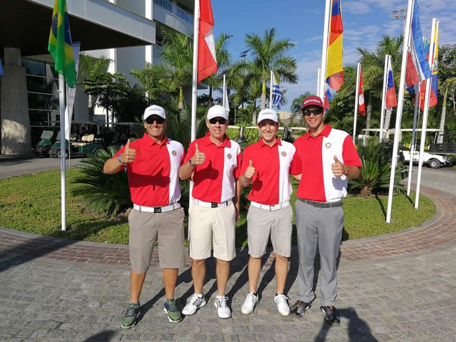 Los jugadores que representarán a Perú en la 10ma edición del Campeoanto Latinoamericano de Golf en el Campo de Greg Norman