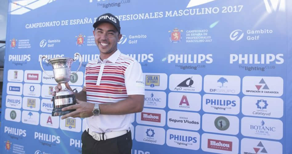 Sebastián García impone su ley en el Campeonato de España de Profesionales