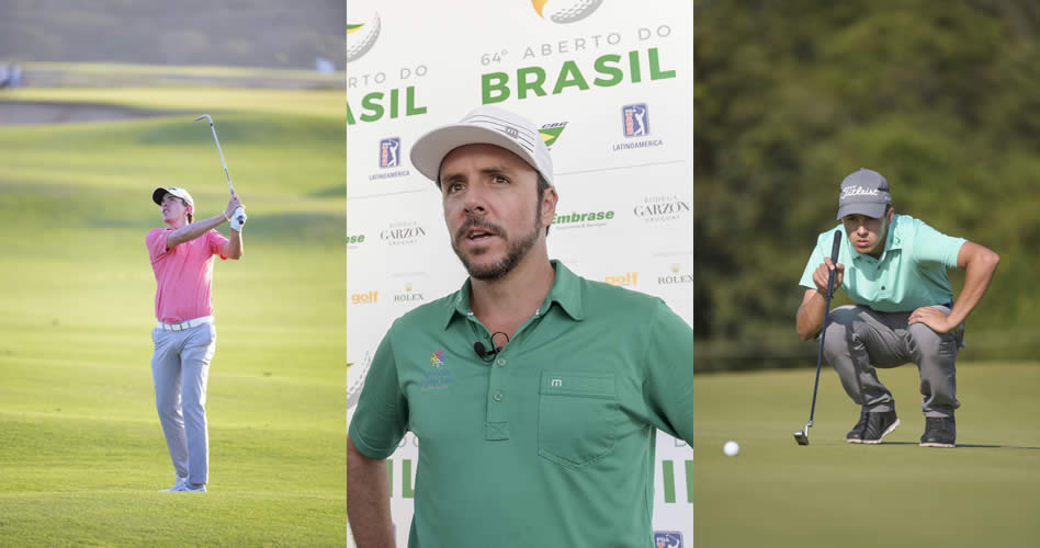 Triple empate en la punta del 64º Aberto do Brasil