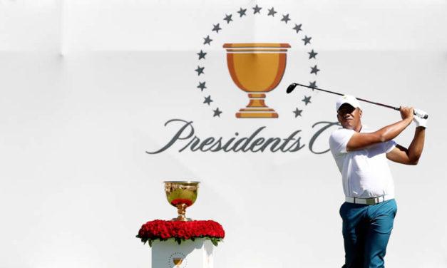 Vegas terminó encantado con su primera Presidents Cup