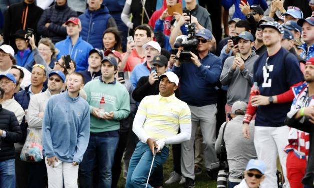 """Vegas tras otra dura jornada en la Presidents Cup: """"Saldremos a dar lo mejor en los singles"""""""
