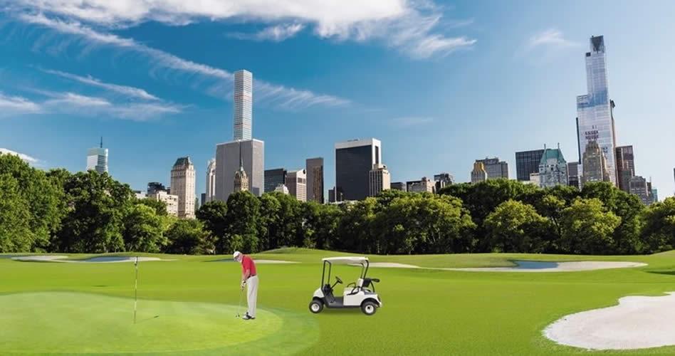 36 Hoyos de Golf en el Central Park de New York