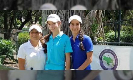 Agatha Alesson lideró la Clasificación en Nacional Juvenil Damas