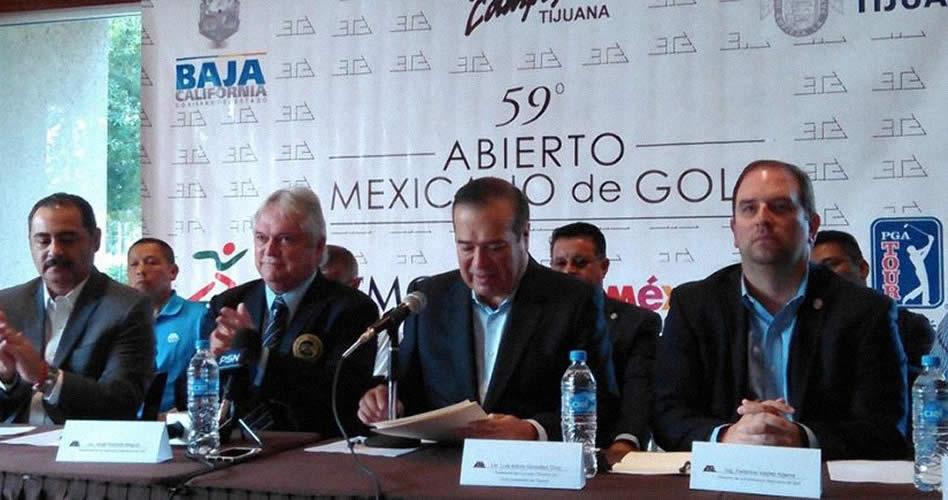 Anuncian el Abierto Mexicano de Golf