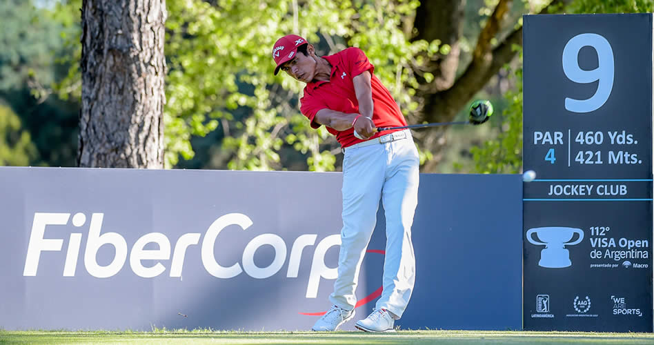 Augusto Núñez pisa fuerte en el arranque del VISA Open