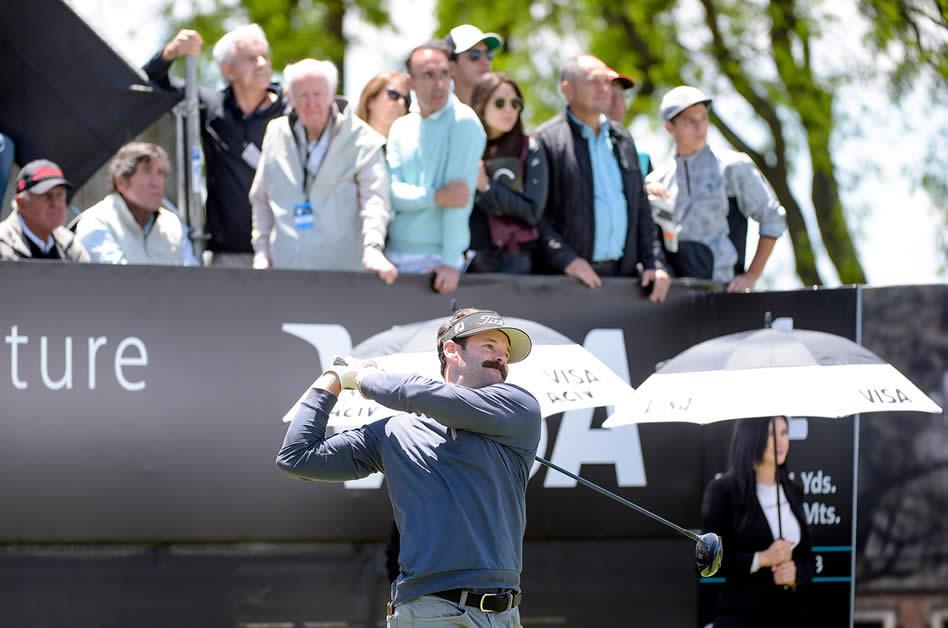 Matt Ryan (USA) se metió en la pelea en este 112° VISA Open de Argentina presentado por Macro (Enrique Berardi/PGA TOUR)