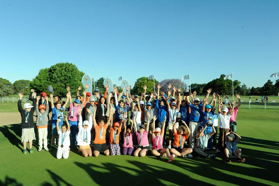 El marco del VISA Open de Argentina fue ideal para la primera edición de la Promesas Cup que fue un éxito y un gran acierto de la Asociación Argentina de Golf (Enrique Berardi/PGA TOUR)