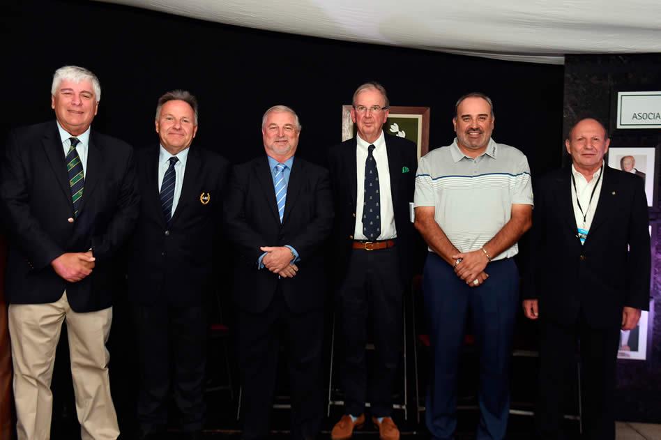El Maestro Roberto De Vicenzo tuvo su homenaje en el VISA Open de Argentina (Enrique Berardi/PGA TOUR)