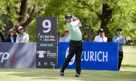 Brady Schnell sorprende a todos en el Jockey y lidera el VISA Open de Argentina