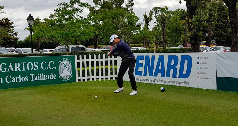 Daniel Kenji Ishii (BRA) fue uno de los mejores en esta primera ronda de la Copa Tailhade.