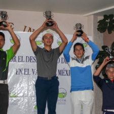 Cambio generacional aumenta la competitividad en el golf infantil-juvenil del Valle de México