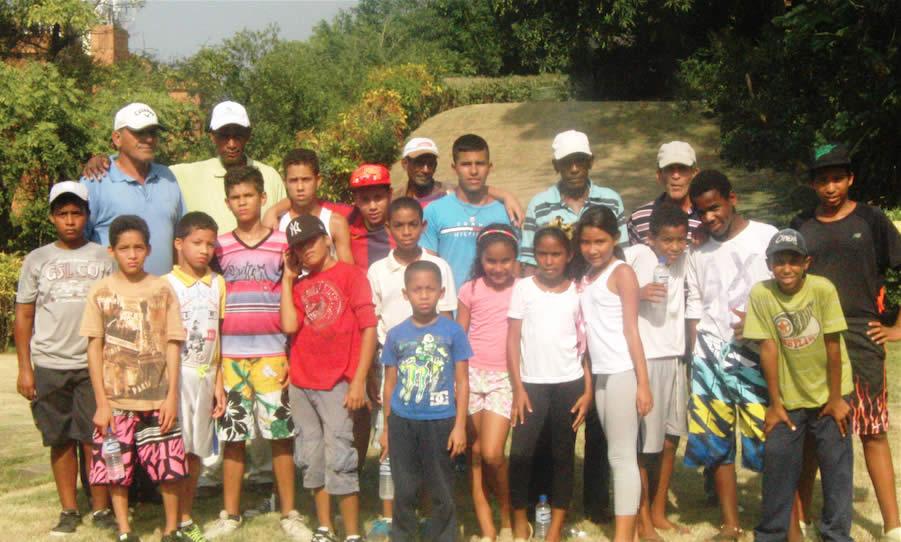 Escuela de Golf Caraballeda G&YC (cortesía CG&YC)