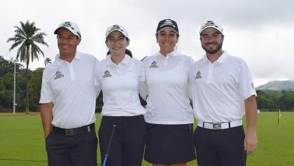 Selección Colombia (cortesía Federación Colombiana de Golf)