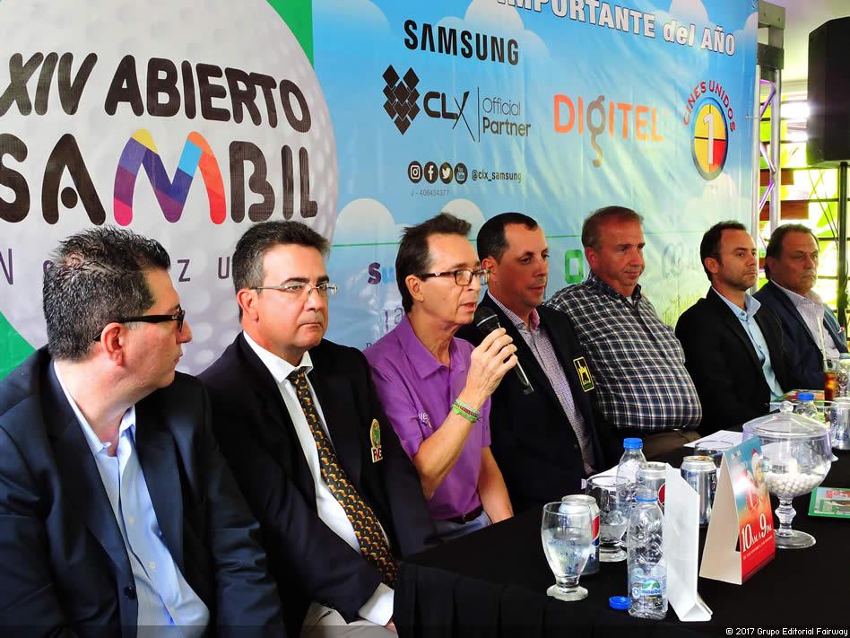 Panel de la Rueda de Prensa XIV Abierto Sambil