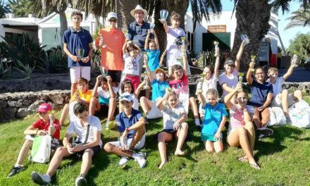 El Circuito Infantil de Golf concluyó en las instalaciones de Costa Teguise Golf