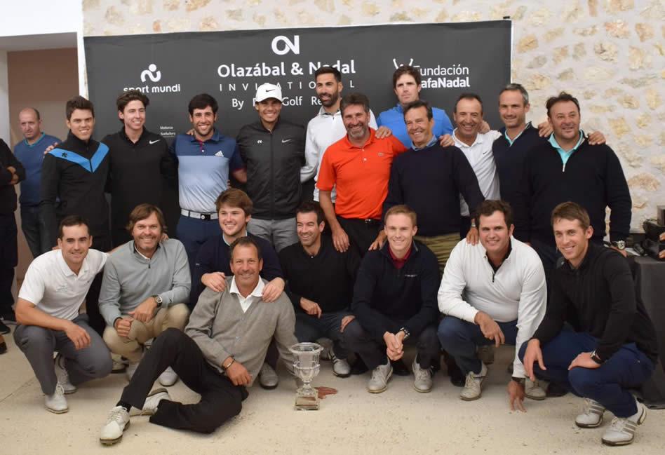El equipo de Rafa Nadal gana, por tercer año de forma consecutiva, el Olazábal&Nadal Invitational