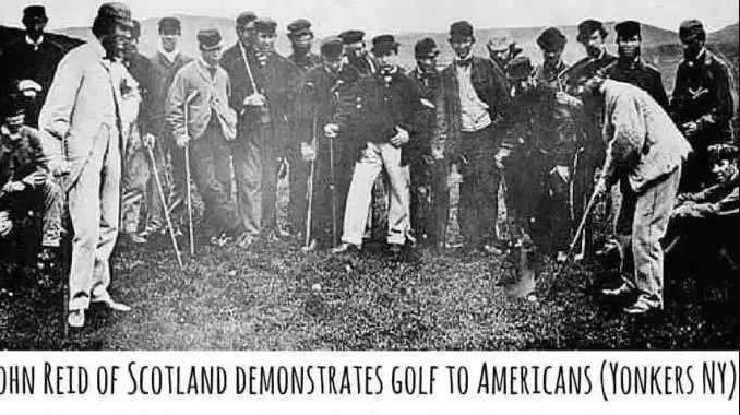 El escocés John Reid considerado el padre del golf estadounidense (cortesía Golf History Today).JPG.