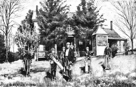 St. Andrews Golf Club, Yonkers (cortesía Victoriana Magazine)
