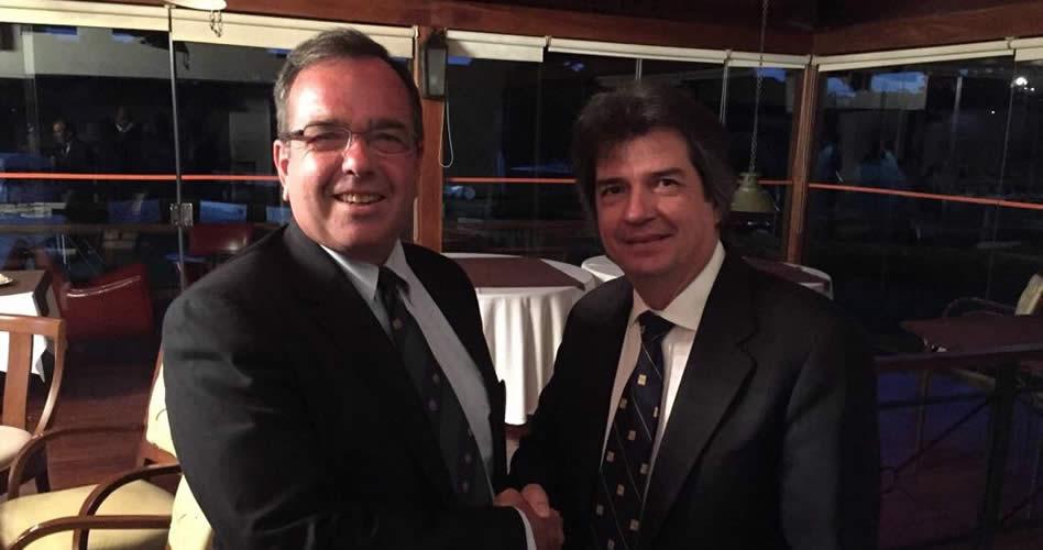 El uruguayo Víctor Zerbino es el nuevo presidente de la Federación Sudamericana de Golf