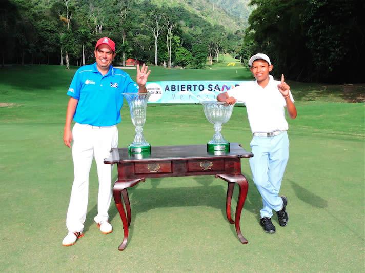 Otto Solís y Amauriel Fernández Campeones 2016