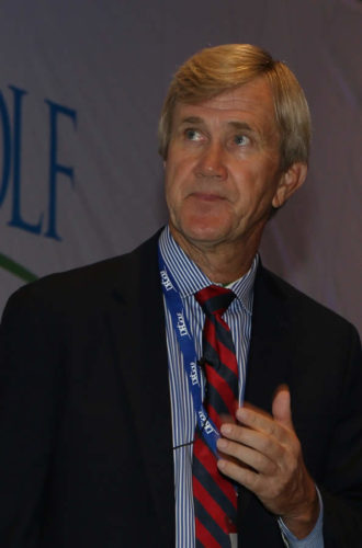 James J. Keegan, reconocido escritor de golf y estratega estadounidense. (cortesía News Life RD)