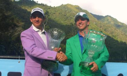 Felipe Velázquez y Ricardo Méndez ganadores del XIV Abierto Sambil