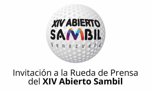 Invitación a la Rueda de Prensa del XIV Abierto Sambil