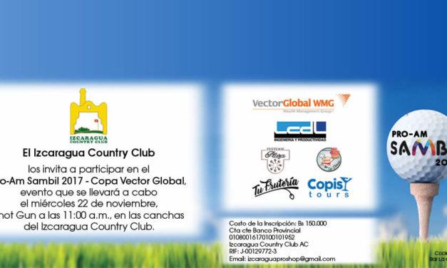 Izcaragua Country Club invita a participar en el ProAm Sambil 2017