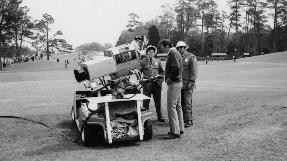 John Derr, el Maestro cronista del Golf (cortesía The Masters)