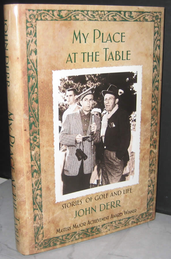 John Derr, My Place at the Table Stories of Golf and Life (cortesía Amazon.com)
