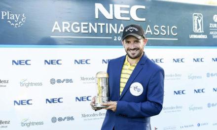 Julián Etulain aguanta la presión para ganar el NEC Argentina Classic
