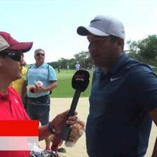 Esteban Galbán conversa con Jhonattan Vegas (cortesía Marca)