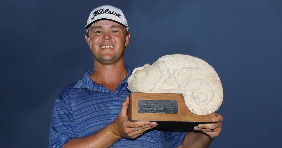 Kizzire se llevó El Camaleón del OHL Classic en 1ra victoria PGA
