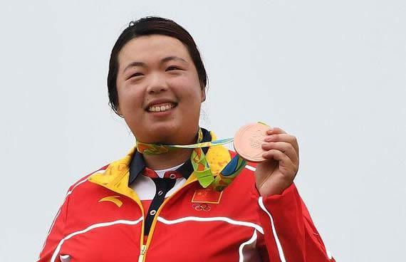 Shanshan Feng, la nueva golfista No. 1 del mundo (cortesía sports.sina.com.cn)
