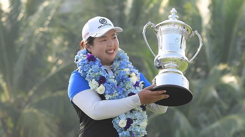 Shanshan Feng, la nueva golfista No. 1 del mundo (cortesía LPGA.com)